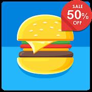 FREE App Nougat Square - Icon Pack