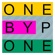FREE App One By One - Multilingual Word Search