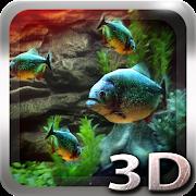 FREE App Piranha Aquarium 3D lwp