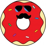 FREE App Powder Donut Co Stickers