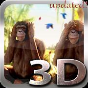FREE App Three Wise Monkeys 3D