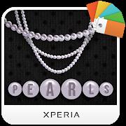 FREE App XPERIA™ Pearls Theme