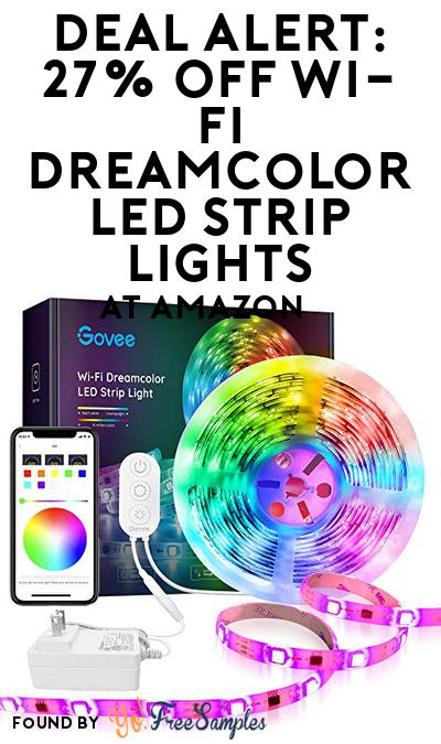 DEAL ALERT: 27% OFF Wi-Fi DreamColor LED Strip Lights At Amazon
