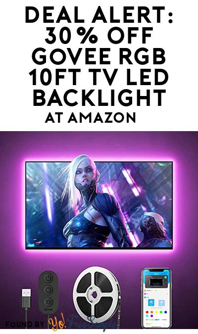 DEAL ALERT: 30% OFF Govee RGB 10FT TV LED Backlight At Amazon