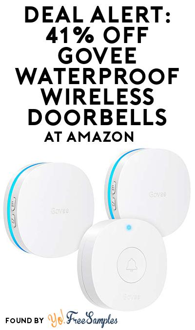 DEAL ALERT: 41% OFF Govee Waterproof Wireless Doorbells At Amazon