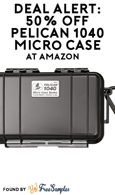 DEAL ALERT: 50% OFF Pelican 1040 Micro Case At Amazon