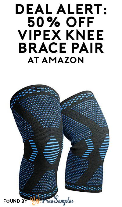 DEAL ALERT: 50% OFF VIPEX Knee Brace Pair At Amazon