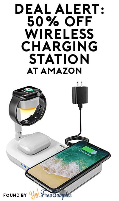 DEAL ALERT: 50% OFF Wireless Charging Station At Amazon