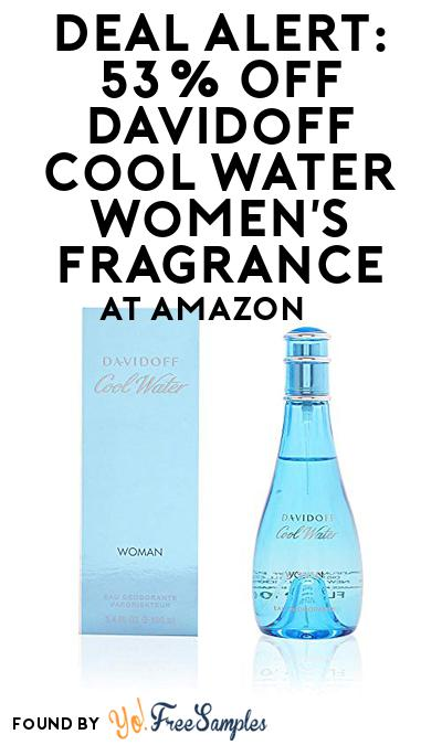 DEAL ALERT: 53% OFF Davidoff Cool Water Women's Fragrance At Amazon