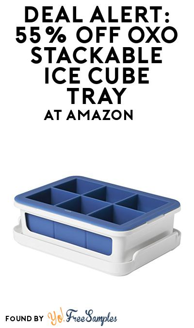 DEAL ALERT: 55% OFF OXO Stackable Ice Cube Tray At Amazon