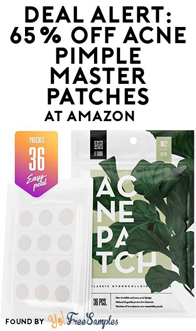 DEAL ALERT: 65% OFF Acne Pimple Master Patches At Amazon