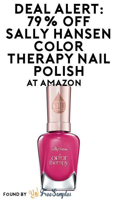 DEAL ALERT: 79% OFF Sally Hansen Color Therapy Nail Polish At Amazon