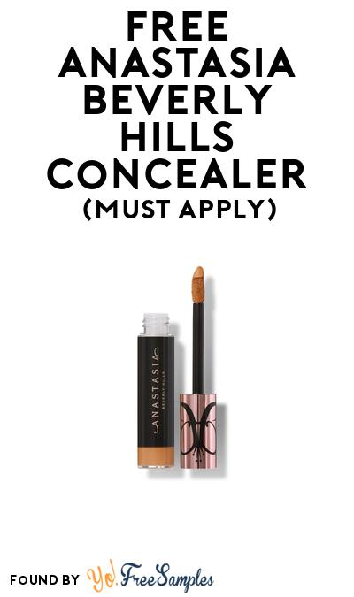 FREE Anastasia Beverly Hills Concealer At BzzAgent (Must Apply)