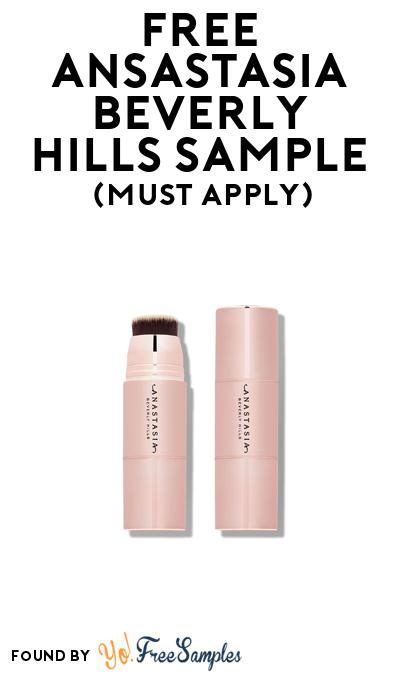 FREE Ansastasia Beverly Hills Sample At BzzAgent (Must Apply)