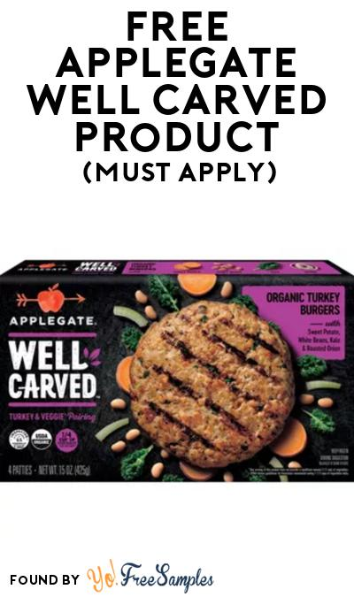 FREE Applegate Well Carved Product At BzzAgent (Must Apply)