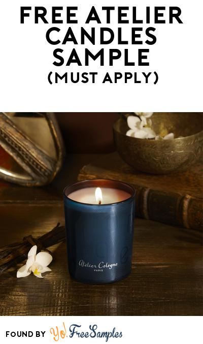 FREE Atelier Candles Sample At BzzAgent (Must Apply)