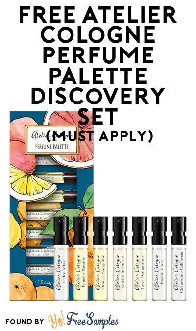 FREE Atelier Cologne Perfume Palette Discovery Set At BzzAgent (Must Apply)