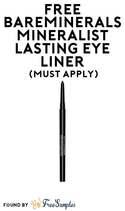 FREE Bareminerals Mineralist Lasting Eye Liner At BzzAgent (Must Apply)