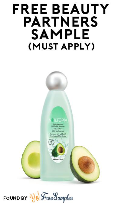FREE Beauty Partners Nail Polish Remover or Other Sample At BzzAgent (Must Apply)