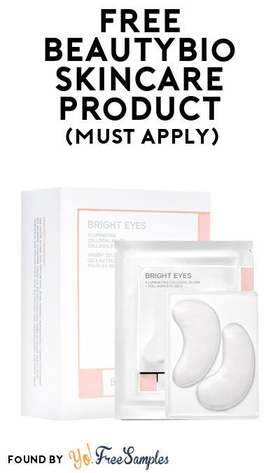 FREE Beautybio Bright Eyes Collagen Eye Gels At BzzAgent (Must Apply)