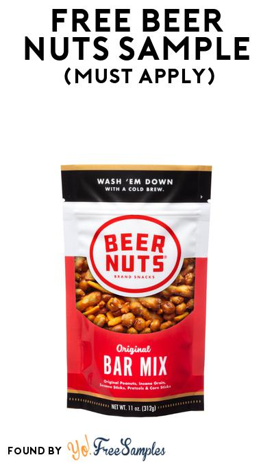 FREE Beer Nuts Sample At BzzAgent (Must Apply)