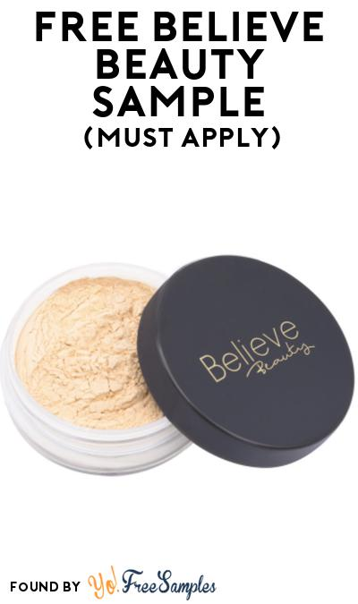 FREE Believe Beauty Sample At BzzAgent (Must Apply)
