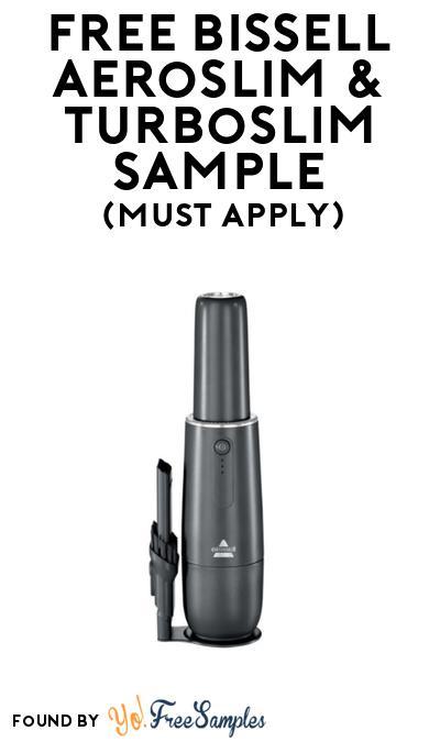 FREE Bissell Aeroslim & Turboslim Vacuum At BzzAgent (Must Apply)