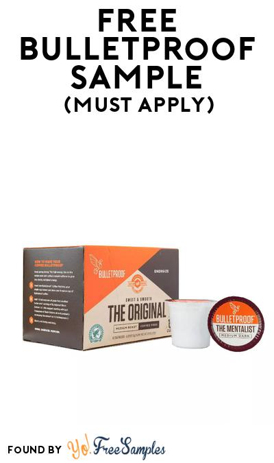 FREE Bulletproof Coffee At BzzAgent (Must Apply)