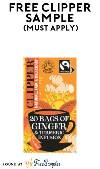 FREE Clipper Tea Sample At BzzAgent (Must Apply)