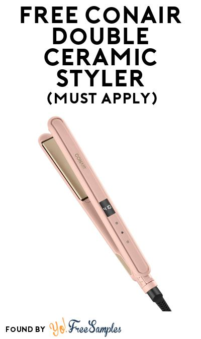FREE Conair Double Ceramic Styler At BzzAgent (Must Apply)