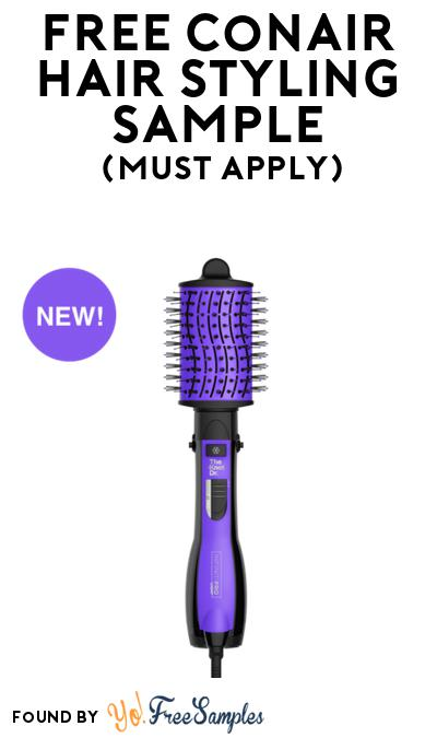 FREE Conair Hair Styling Sample At BzzAgent (Must Apply)