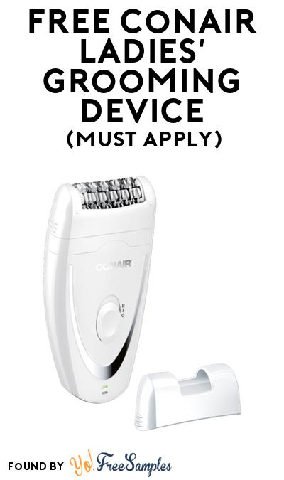 FREE Conair Ladies' Grooming Device At BzzAgent (Must Apply)