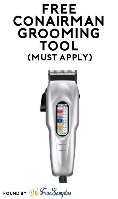 FREE Conairman Grooming Tool At BzzAgent (Must Apply)