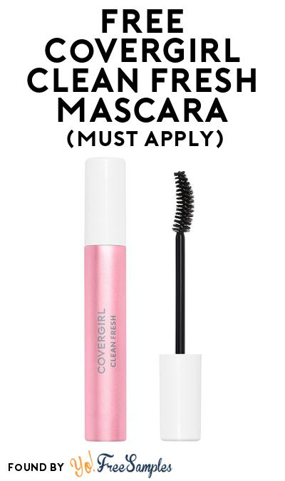 FREE CovergirlClean Fresh Mascara At BzzAgent (Must Apply)