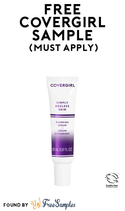 FREE Covergirl Simply Ageless Skin Care At BzzAgent (Must Apply)