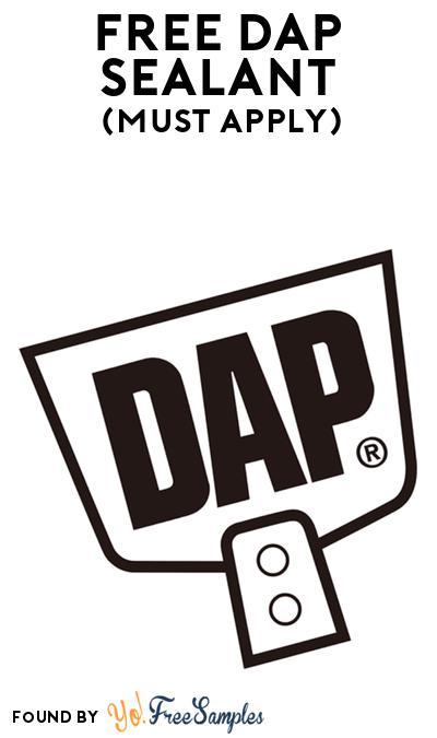 FREE DAP Sealant At BzzAgent (Must Apply)