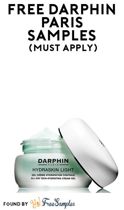 FREE Darphin Paris Hydraskin Light Creme At BzzAgent (Must Apply)