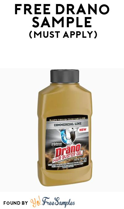 FREE Drano Hair Buster Gel At BzzAgent (Must Apply)
