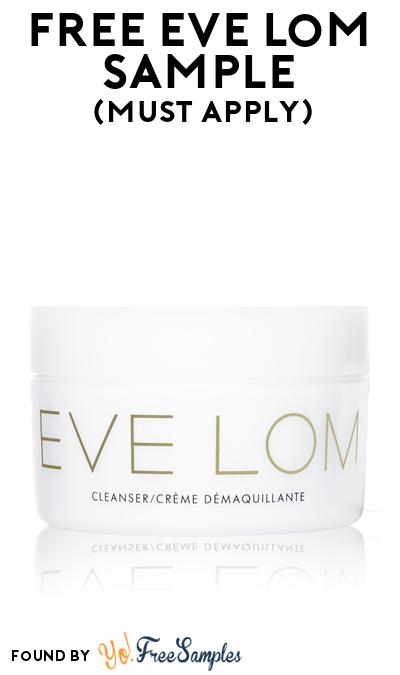 FREE Eve Lom Sample At BzzAgent (Must Apply)