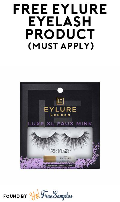 FREE Eylure Eyelash Product At BzzAgent (Must Apply)