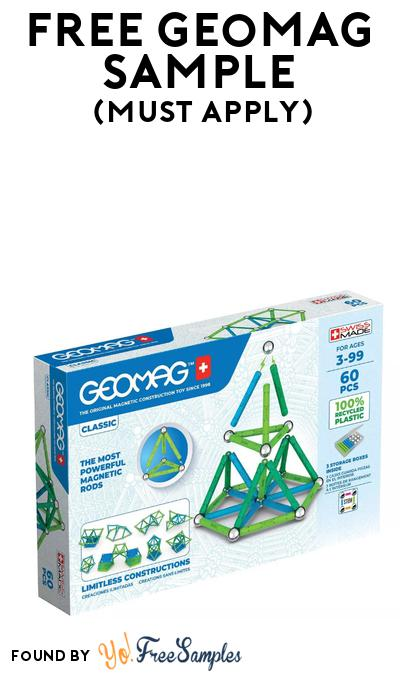 FREE Geomag Construction Toy At BzzAgent (Must Apply)