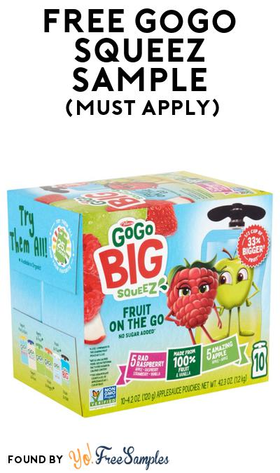 FREE Gogo Squeez Sample At BzzAgent (Must Apply)