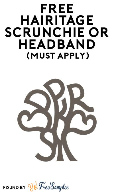 FREE Hairitage Scrunchie Or Headband At BzzAgent (Must Apply)
