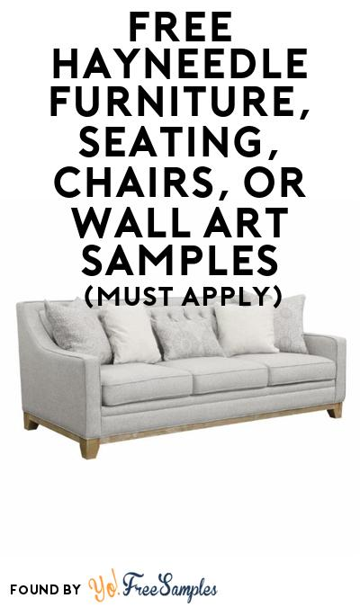 FREE Hayneedle Furniture, Seating, Chairs, or Wall Art Samples At BzzAgent (Must Apply)