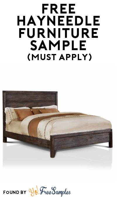FREE Hayneedle Furniture or Bed At BzzAgent (Must Apply)