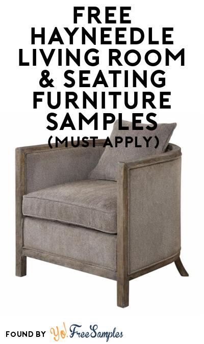 FREE Hayneedle Living Room & Seating Furniture At BzzAgent (Must Apply)