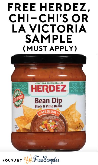 FREE Herdez, Chi-Chi's or La Victoria Sample At BzzAgent (Must Apply)