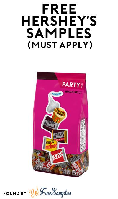 FREE Hershey's Candy Party Pack At BzzAgent (Must Apply)