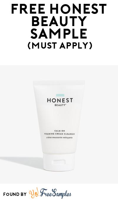 FREE Honest Beauty Sample At BzzAgent (Must Apply)