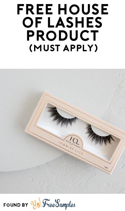FREE House Of Lashes Product At BzzAgent (Must Apply)